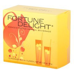 Sunrider® Fortune Delight Raspberry 60/3 g Packs (0.10 oz./3 g each bag)