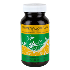 White Willow Bark 100 Capsules  (375 mg each capsule)