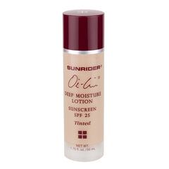 Oi-Lin® Deep Moisture Lotion Sunscreen SPF 25 Tinted - Net Wt. 1.75 fl. oz./50 mL