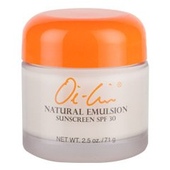 Oi-Lin® Natural Emulsion Sunscreen SPF 30 - Net Wt. 2.5 oz./71 g