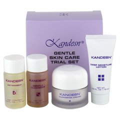 Kandesn® Gentle Skin Care Trial Set  (0.5 fl. oz./15 mL each bottle)
